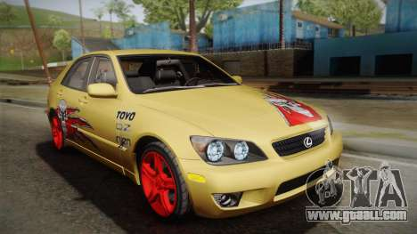 Lexus IS300 NFSMW05 PJ for GTA San Andreas