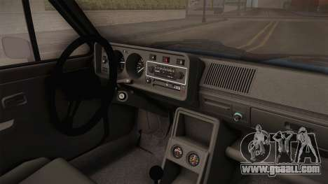 Volkswagen Golf Mk1 GTI for GTA San Andreas inner view