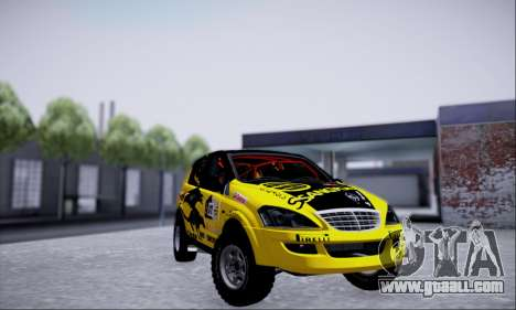 SsangYong Kyron 2 Rally Dacar for GTA San Andreas