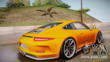 Porsche 911 R (991) 2017 v1.0 for GTA San Andreas left view