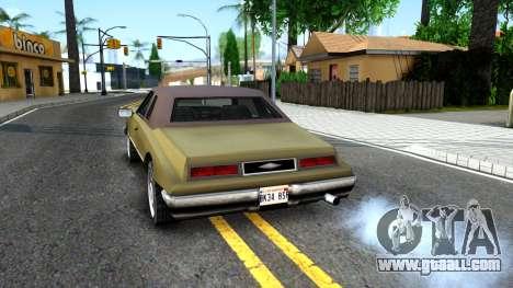 Idaho SA style for GTA San Andreas back left view