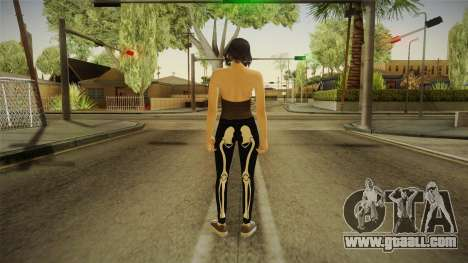 Halloween Surprise DLC Female Skin for GTA San Andreas third screenshot