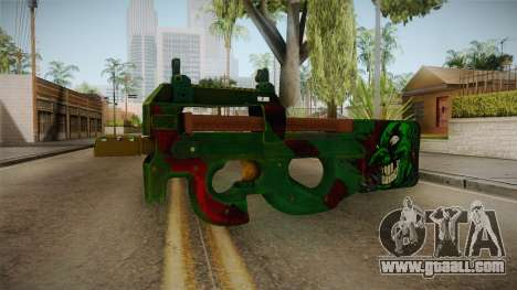 Vindi Halloween Weapon 7 for GTA San Andreas
