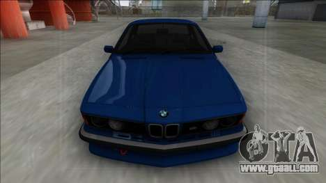 BMW M6 E24 for GTA San Andreas back view