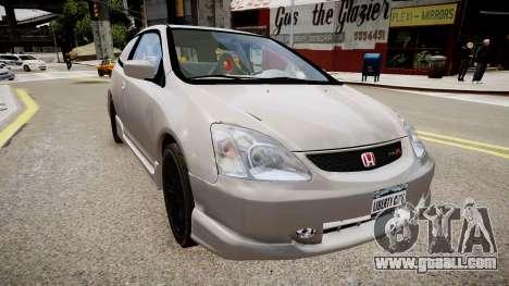 Honda Civic TypeR 2002 for GTA 4