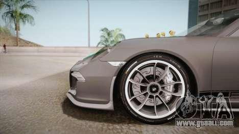 Porsche 911 R (991) 2017 v1.0 Green for GTA San Andreas back left view