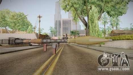 RPG-7 for GTA San Andreas second screenshot