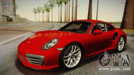 Porsche 911 Turbo S 2017 for GTA San Andreas