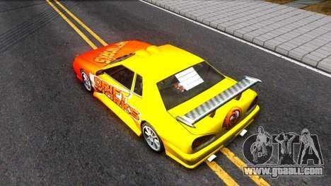 Elegy Paintjob DriftWorks for GTA San Andreas back view