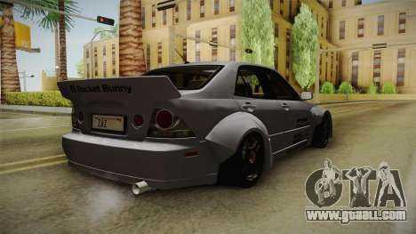 Lexus IS300 Rocket Bunny v2 for GTA San Andreas right view