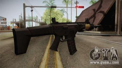 FB MSBS Black for GTA San Andreas second screenshot