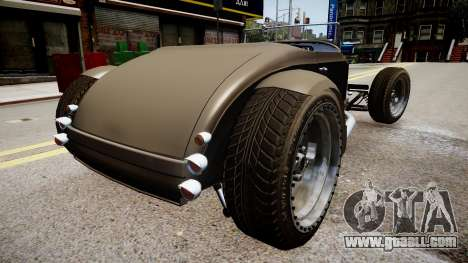 Hot-Rod concept beta for GTA 4 back left view