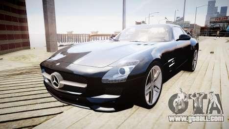 Mercedes-Benz SLS63 AMG for GTA 4