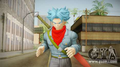 DBX2 - Trunks SSJB for GTA San Andreas
