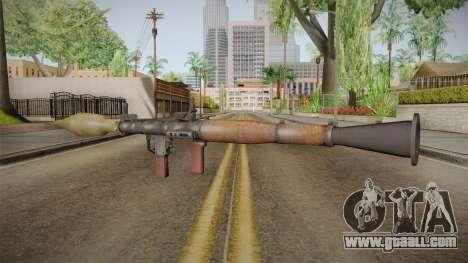 RPG-7 for GTA San Andreas third screenshot