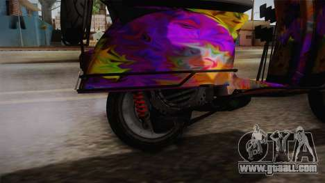 GTA 5 Pegassi Faggio Cool Tuning v1 for GTA San Andreas