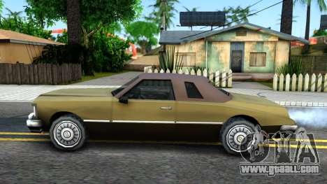 Idaho SA style for GTA San Andreas left view