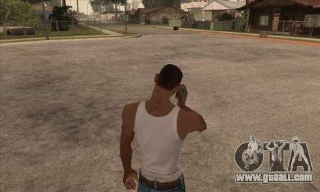 Nokia 5130 xpress music for GTA San Andreas forth screenshot