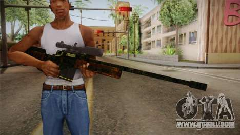 Sniper Estilo Ejercito Mexicano for GTA San Andreas third screenshot