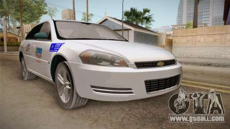 Chevrolet Impala LTZ 2008 Drivetek for GTA San Andreas right view