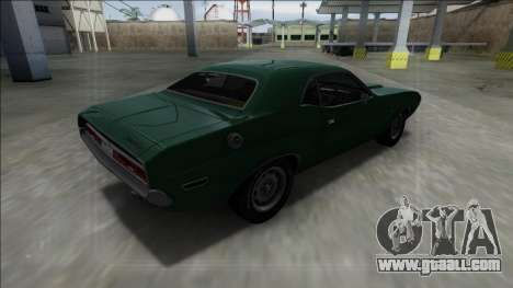 1970 Dodge Challenger 426 Hemi for GTA San Andreas left view
