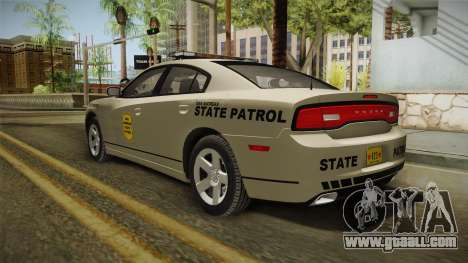 Dodge Charger 2012 SA State Patrol for GTA San Andreas left view