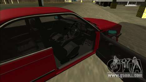 BMW M6 E24 for GTA San Andreas back left view