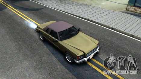 Idaho SA style for GTA San Andreas right view