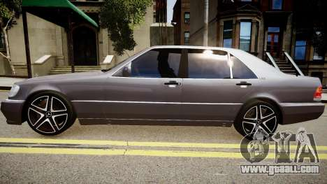 Mercedes-Benz S70 for GTA 4 left view