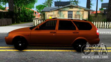 VAZ 2171 Taxi for GTA San Andreas left view