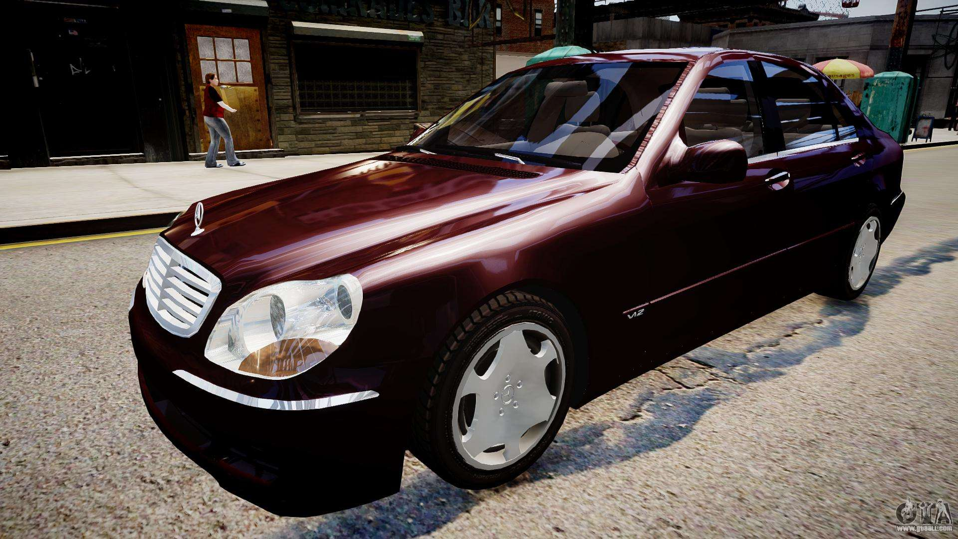 Mercedes Benz S600 Special Edition For Gta 4
