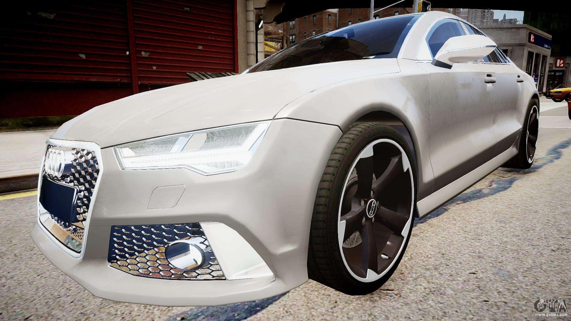 Audi RS7 2015 for GTA 4