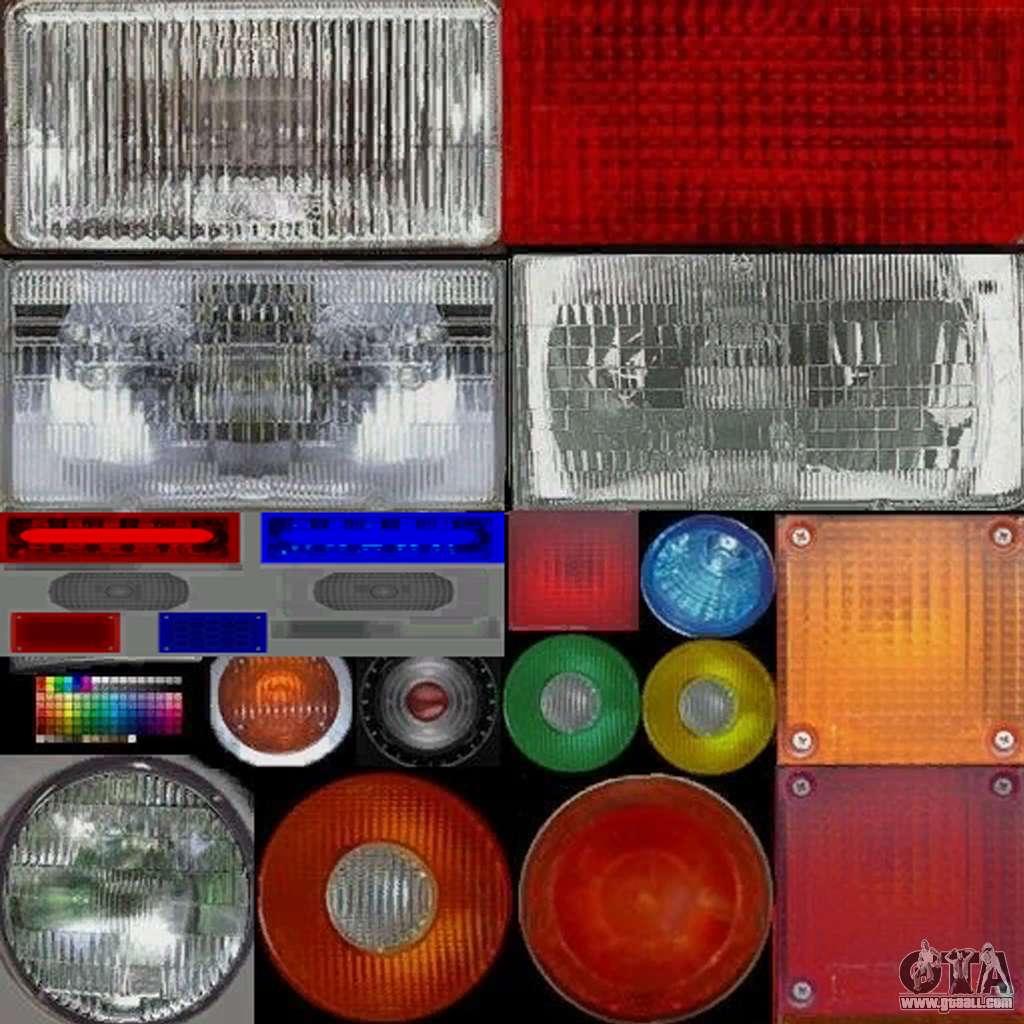 New police lights (For Modders) for GTA San Andreas forth screenshot & New police lights (For Modders) for GTA San Andreas