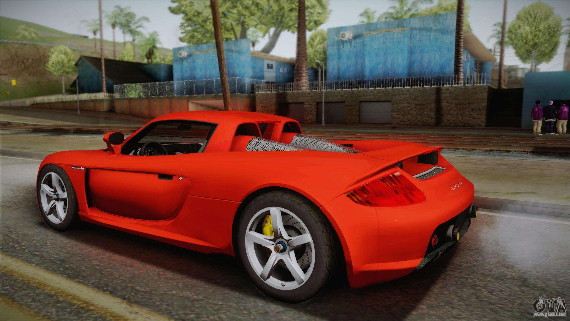 porsche carrera gt for gta san andreas. Black Bedroom Furniture Sets. Home Design Ideas