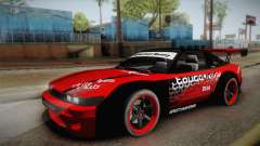 Nissan 180SX Drift for GTA San Andreas