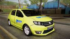 Dacia Sandero 2016 TOP SPEED for GTA San Andreas