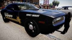 Dodge Challenger Liberty Sheriff 2010 for GTA 4