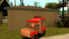 Wooden Toy Truck for GTA San Andreas