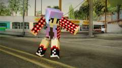 Minecraft Gamer Girl (Normal Maps) for GTA San Andreas
