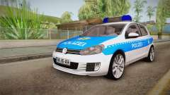 Volkswagen Golf Mk6 Police for GTA San Andreas