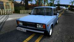 VAZ 2105 silver for GTA San Andreas