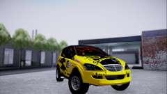 SsangYong Kyron 2 Rally Dacar