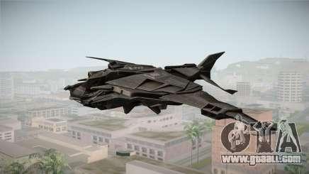 Batman Arkham Knight Batwing v1.0 for GTA San Andreas