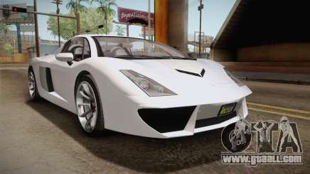 GTA 5 Pegassi Vacca 9F Roadster (Coupe) for GTA San Andreas