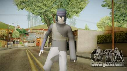 NUNS4 - Sasuke The Last No Cloak for GTA San Andreas