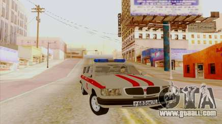Volga 3110 for GTA San Andreas