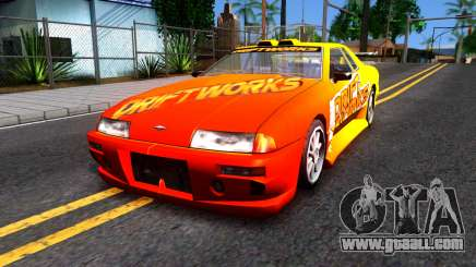 Elegy Paintjob DriftWorks for GTA San Andreas
