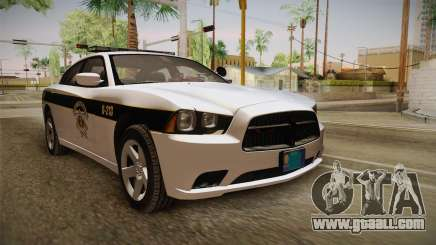 Dodge Charger 2013 SA Highway Patrol v1 for GTA San Andreas