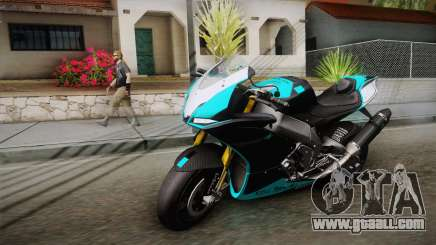 Aprilia RSV-4 Blue Edition for GTA San Andreas