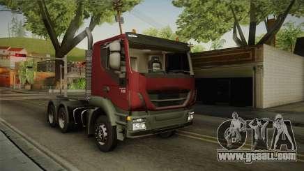 Iveco Trakker Hi-Land 6x4 Cab Low v3.0 for GTA San Andreas